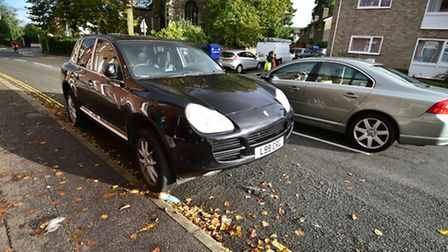Jill Stanforth is refusing to pay for parking fines after she parked her car on Finkelgate before do