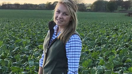 Young Farmer Claire Riseborough. Picture: YOUNG FARMERS
