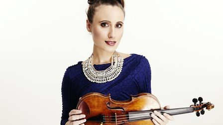 Jennifer Pike who will be joining Royal Philharmonic Orchestra for the fiendish Bruch Violin Concert
