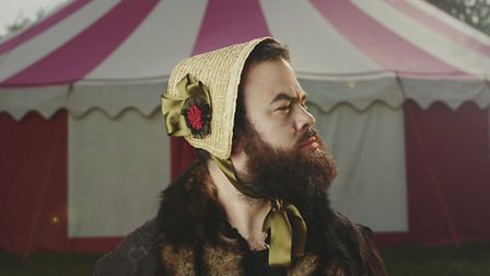 The Magnificent Bearded Lady, poignant, moving, off-kilter show in Bungay