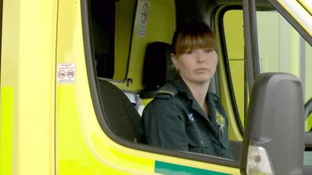 Heidi, a paramedic who has been sexually assaulted.