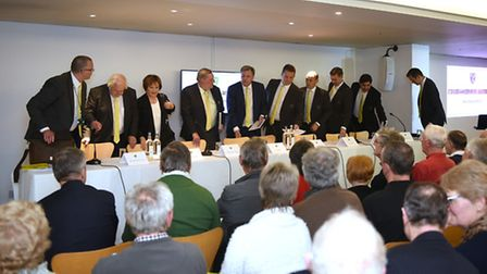 NCFC AGM at Carrow Road.Picture: ANTONY KELLY