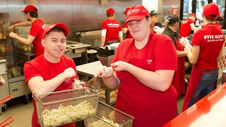 A new apprenticeship programme developed by skills specialist Ingeus and Five Guys Burgers and Fries