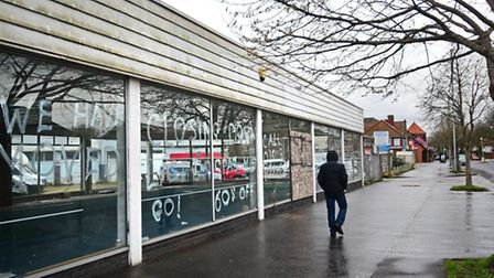 Proposed site for the new Lidl store on Aylsham Road, Norwich. Picture: ANTONY KELLY
