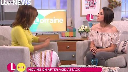 Adele Bellis has been on television to talk about domestic abuse, including on ITV's Lorraine.
