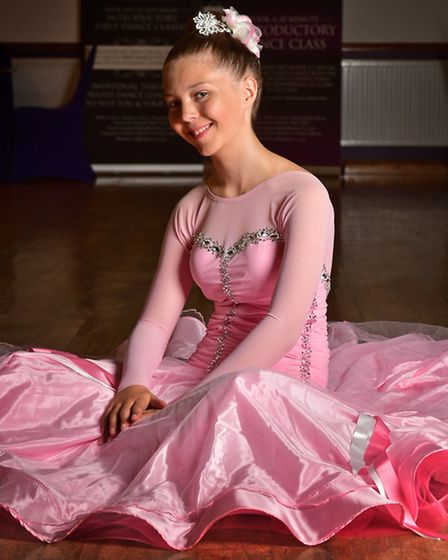 Young Person of the Year finalist Ezara-Mai Downes. Picture: ANTONY KELLY