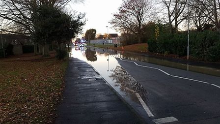 Croxton Road flood, Thetford. Picture James Daniel Reeves