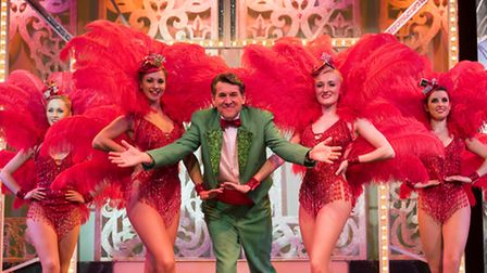 Launch of the 2016 Cromer Pier Pavilion Theatre Christmas Show. Olly Day (centre) PHOTO: Nick Butche