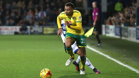 Jacob Murphy was worth his Norwich City recall at Queens Park Rangers. Picture by Paul Chesterton/Fo