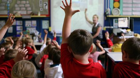 Children in a classroom. Picture: Dave Thompson/PA Wire