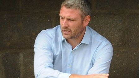 Norwich United manager Steve Easthaugh. Picture: DENISE BRADLEY