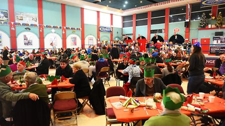 The Open Christmas Great Yarmouth event held at the Marina Centre.Picture: James Bass