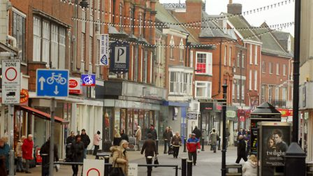 Library photo of Great Yarmouth town centre. Photo: Nick Butcher