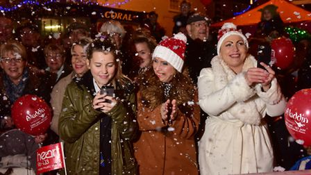 Beccles 2016 Christmas light switch on event.PHOTO: Nick Butcher