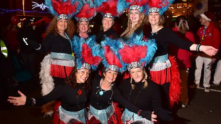 Beccles 2016 Christmas light switch on event.The Suffolk School of Samba.PHOTO: Nick Butcher
