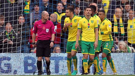 Russell Martin had plenty to say about Norwich City's capitulation at Brighton. Picture by Paul Ches