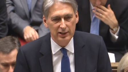 Chancellor Philip Hammond delivers his Autumn Statement in the House of Commons. PA Wire