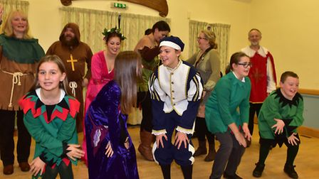 Saxlingham Nethergate Players will be cleberating 65 years with the Christmas Panto Robin Hood and t
