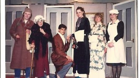 Past productions from the Saxlingham Players, as members celebrate their 65th year. Photo: Saxlingha