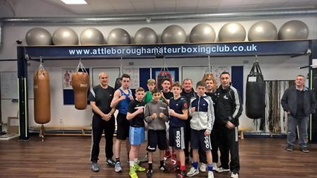Attleborough Boxing club's new state of the art facility played host to the England Schoolboys Compe