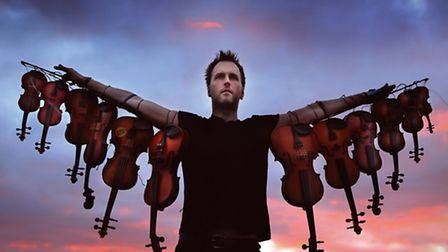 Former Bellowhead singer Jon Boden appears at The Apex. Picture: David Angel