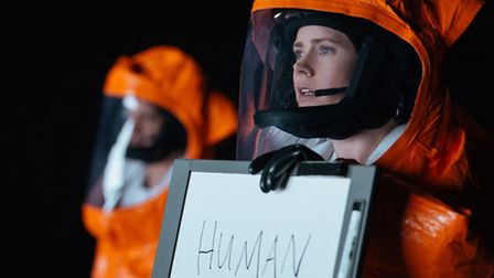 Amy Adams as Louise Banks in Arrival. Picture: Paramount Pictures/Jan Thijs