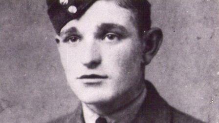 Sgt Sidney Smith from Norwich who was killed after the Lancaster bomber he was flying in was shot do