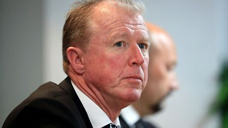 Derby County manager Steve McClaren. Picture: Mike Egerton/PA Wire