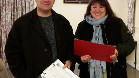 Labour campaigners David Spencer and Jacqui Cross are campaigning against car parking charges at our