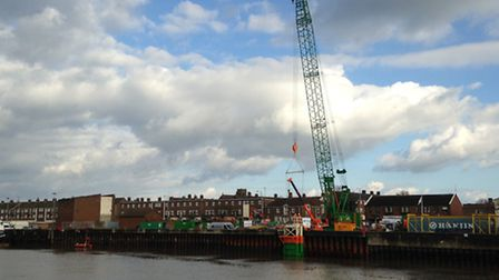 The EA has recently finished the £28 million phase of work to replace over 500 metres of tidal defen