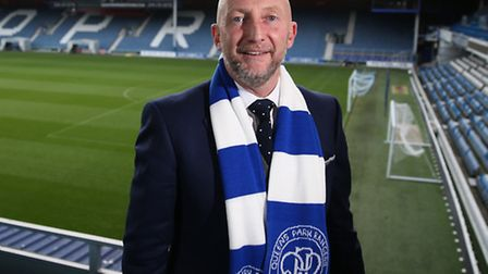New Queens Park Rangers manager Ian Holloway at Loftus Road, London. Picture: Steven Paston/PA Wire