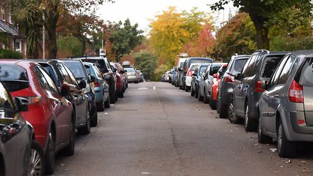 College Road, one of the areas of Norwich where permit parking is to be introduced. Picture: DENISE