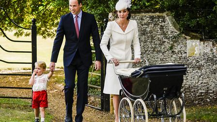 The Royal couple have chosen to bring up their two young children in Norfolk. Picture: Matthew Usher