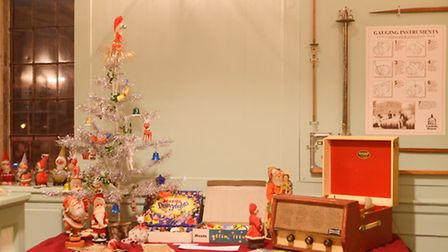 New exhibition 'Christmas Through the Decades' has opened at The Custom House in King's Lynn. Pictur