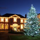 The Assembly House at Christmas.