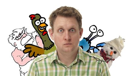 Howard Read will be at the Christmas Comedy Club 4 Kids at Norwich Arts Centre this December.
