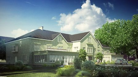 An artist's impression of the St John's House care home. Photo: Castlemeadow Care Group