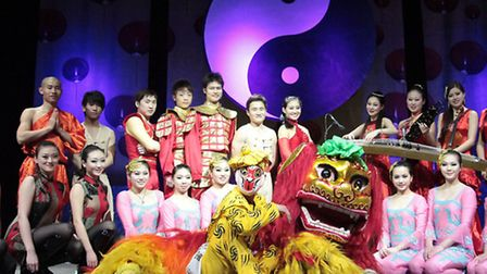 Chinese State Circus performing in Great Yarmouth and Bury St Edmunds
