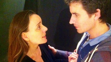 Cathy Gill and Darren France in The Doll's House by Open Space Theatre Company.