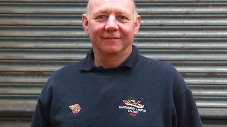 Cubitt Siely, a volunteer crew member at Happpisburgh lifeboat station.