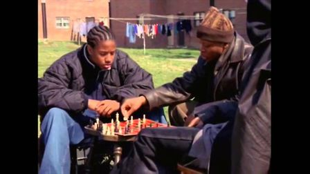 The cast of HBO's the Wire - a lesson in chess in the low rises