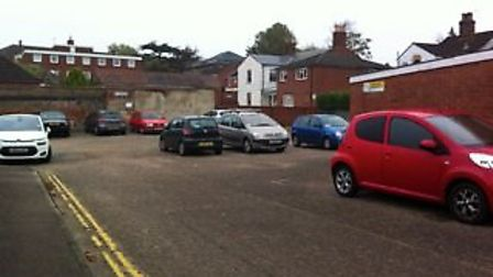Residents are protesting proposed changes to a car park on Hanover Road