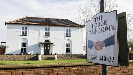 The Lodge Care Home on Watton Road in Ashill. Picture: Archant
