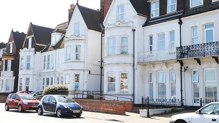 Abbeville Residential Care home on Wellesley Road, Great Yarmouth. Picture: Archant