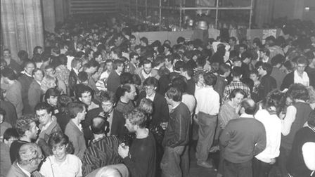 Just one of many photos already uploaded to Norwich Remembers. Norwich Beer Festival in 1987.
