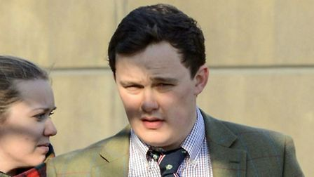 Wymondham farmer Mitchel Britten who is facing jail after breaking a man's nose at a nightclub in Lo