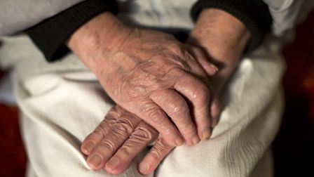 File photo dated 17/03/16 of the hands of an elderly woman. Yui Mok/PA Wire