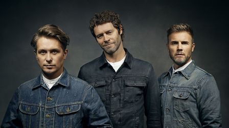 Take That are coming to Norwich in June 2016. Photo: supplied by DawBell.