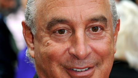 Former BHS owner Sir Philip Green who is being pursued by the Pension Regulator. Picture: John Still