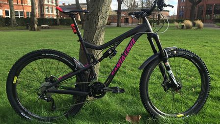 Police issue photographs of high value bikes stolen in Poringland. Picture Norfolk Police